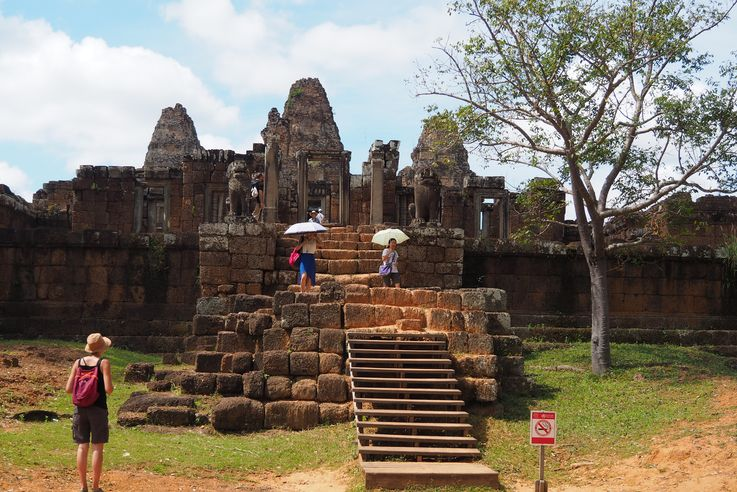 Le temple d'Angkor Eastern Mebon Oriental