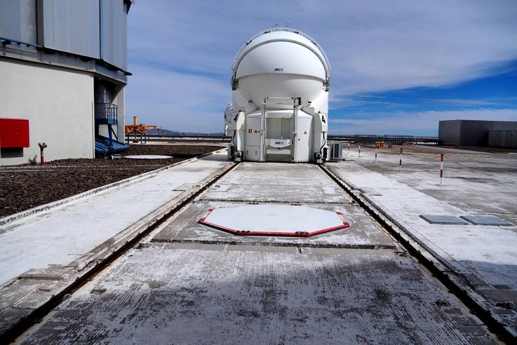 Paranal Observatory, le VLT Very Large Telescope
