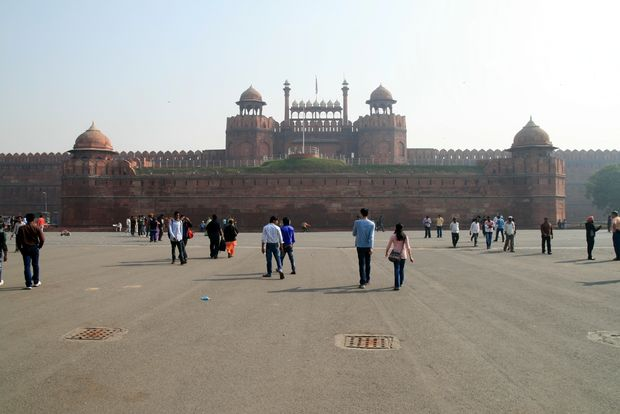 Le fort rouge de New Delhi