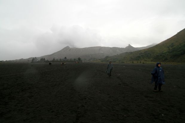 Le volcan Bromo. Java.