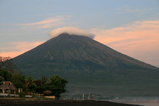 Volcan Agung. Amed. Bali.