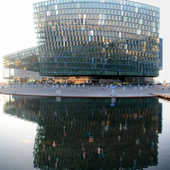 Harpa Concert Hall and Conference Centre. Reykjavik.