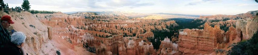 Sunset point à Bryce Canyon
