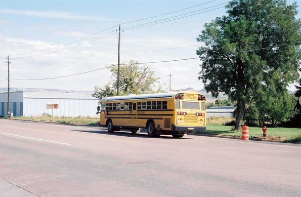 School Bus à Vernal
