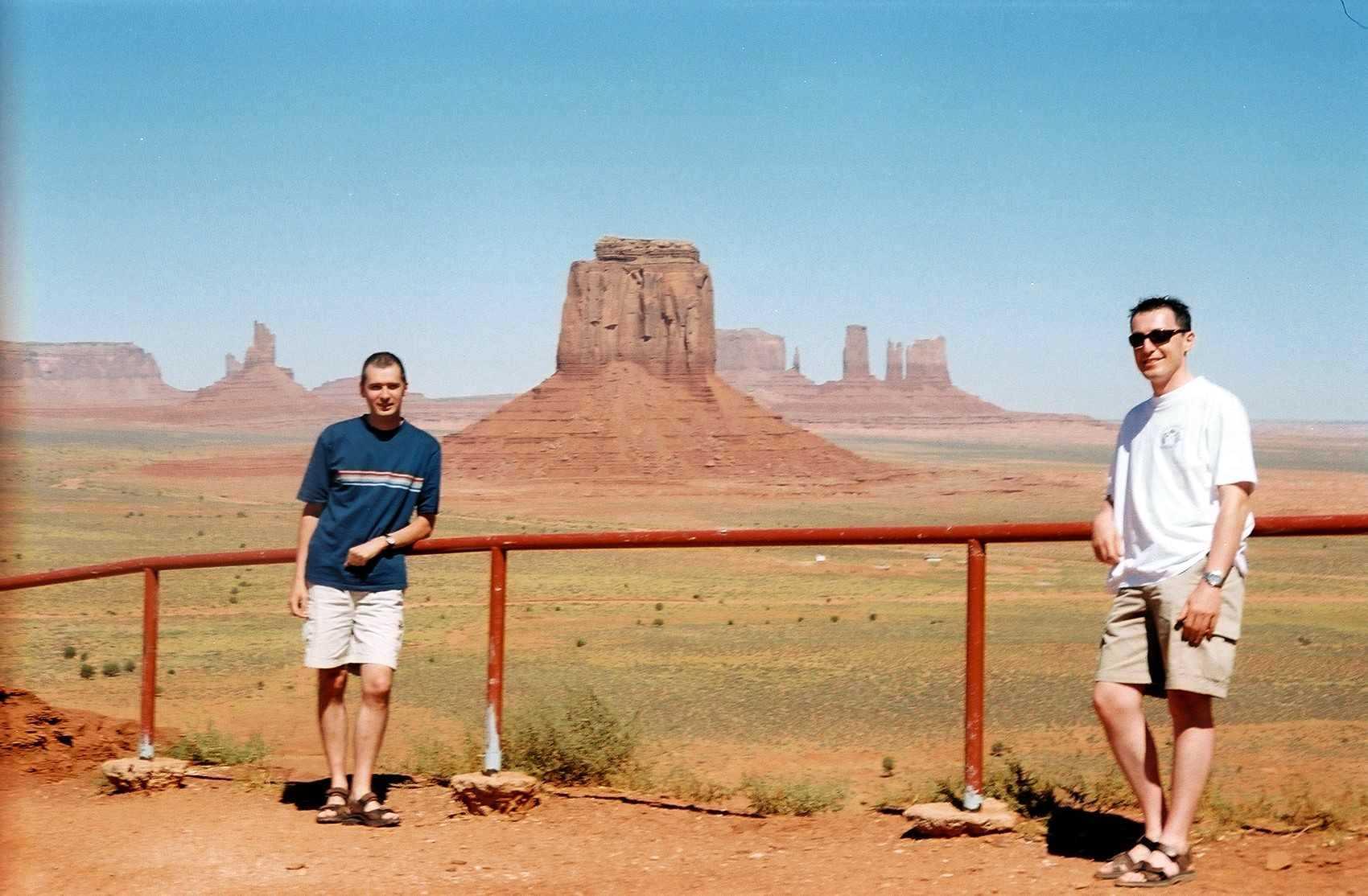 Etats Unis 2005 Dead Horse Point Monument Valley